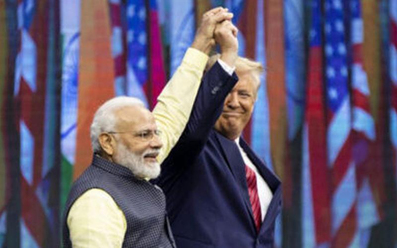 Narendra Modhi and Donald Trumb Janashakthionline