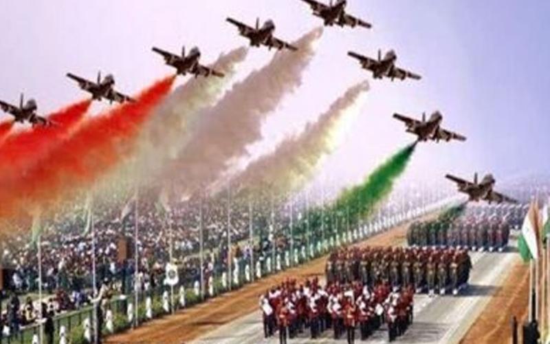 Indian Republicday and 2 pareds Janashakthionline